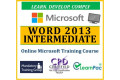 Mastering Word 2013 Intermediate - Online CPD Training Course & Certification