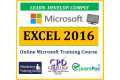 Microsoft Excel 2016 - Online CPD Training Course & Certification