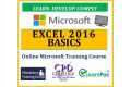Microsoft Excel 2016 Basics - Online CPD Training Course & Certification