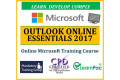 Outlook Online Essentials 2017 - Online CPD Training Course & Certification