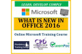 What is New in Office 2016 - Online CPD Training Course & Certification