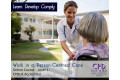 Work in a Person - Centred Care - Level 1 - Online Course - CPD Accredited