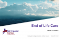 End of Life Care (3hrs)