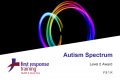 Introduction to the Autistic Spectrum (3hrs)