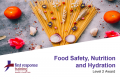 Food Safety, Hydration and Nutrition (3hrs)