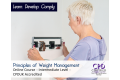 Principles of Weight Management - Online Training Course - CPDUK Accredited
