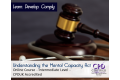 Understanding the Mental Capacity Act - Online Training Course - CPDUK Accredited